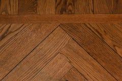 Конец-вверх деревянного партера Стоковое Изображение RF