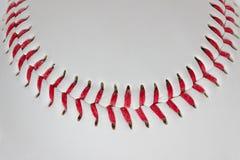Конец-вверх детали бейсбола Стоковое Изображение