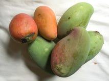Конец-вверх желтых плодоовощей манго Стоковые Фото