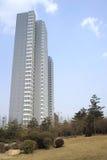Многоэтажное здание Стоковые Изображения RF