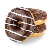 Конец-вверх изолированный Donuts Стоковое фото RF