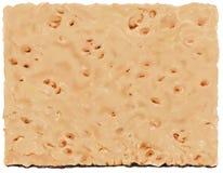 Конец-вверх листа печенья с метками стыковки Стоковые Фото