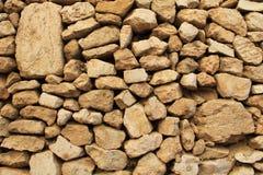 Конец-вверх каменной стены вне Temple Mount Стоковое Изображение RF