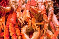 Конец-вверх когтя crabs, омары. Стоковое фото RF