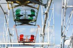 Конец-вверх колеса Ferris стоковая фотография rf