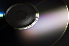 Конец-вверх компакт-диска Стоковое Изображение