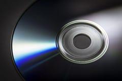 Конец-вверх компакт-диска Стоковое Изображение RF