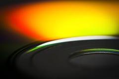 Конец-вверх компакт-диска Стоковые Фото