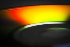 Конец-вверх компакт-диска Стоковое Фото