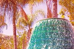 Конец-вверх красочного фонтана Стоковые Фотографии RF