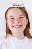 Общность маленькой девочки первая Стоковая Фотография