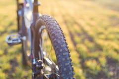 Конец-вверх на велосипеде на задней части Стоковая Фотография RF