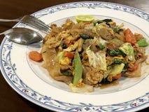 Конец-вверх на тайском блюде стоковые изображения rf