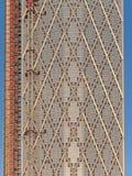 Конец-вверх Ньюфаундленда, современная жилая башня на канереечном причале стоковая фотография