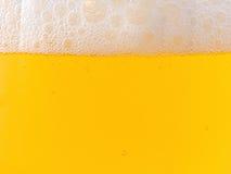 Конец-вверх пива и пены Стоковое Изображение RF