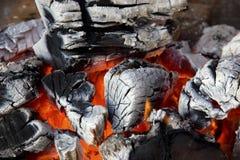 Конец-вверх пожара Стоковое Фото