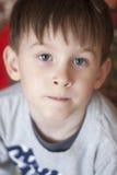 Конец-вверх портрета мальчика Стоковые Фотографии RF