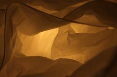 Конец вверх по декоративной розовой бумажной лампе для абстрактной предпосылки стоковое фото