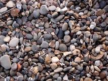 Конец-Вверх пляжа гонта Стоковые Изображения