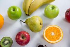 Конец-вверх различных типов плодоовощей Стоковое фото RF