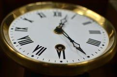 Конец-вверх руки часов Стоковое Изображение