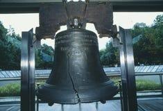 Конец-вверх свободы колокола стоковое фото