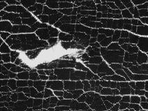 Конец вверх сделал по образцу трескать старой ткани стоковое изображение rf