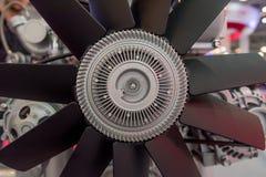 Конец-вверх снятый вентилятора двигателя Стоковая Фотография RF
