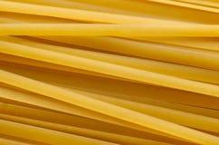 Конец-вверх спагетти Стоковая Фотография
