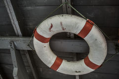 Конец-вверх спасательного пояса Стоковое фото RF