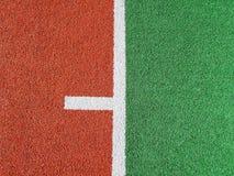 Конец вверх спортивной площадки дерновины astro Стоковое Изображение