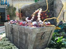 Конец-Вверх сундука с сокровищами Стоковое Изображение