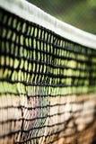 Конец-вверх тенниса сетчатый Стоковое Изображение