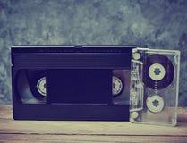 Конец-вверх тональнозвуковой и видео- кассеты Стоковые Фотографии RF