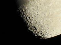 Конец-вверх луны стоковое изображение rf
