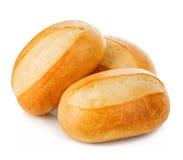 Конец-вверх хлеба изолированный на белой предпосылке Стоковое Изображение RF