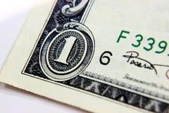 Конец-вверх части доллара Концепция конца-вверх Стоковые Фото
