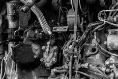 Конец-вверх элемента двигателя стоковая фотография