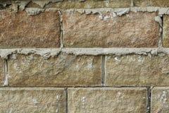 Конец-вверх walling камня и миномета Стоковые Изображения RF