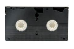 Конец видео- кассеты вверх изолированный на белой предпосылке Стоковое Изображение