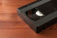 Конец видео- кассеты вверх на древесине Стоковая Фотография RF