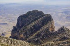 Конец гор Guadelupe Стоковое фото RF