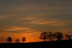 конец дня Стоковая Фотография RF