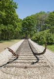 Конец железнодорожного пути Стоковое Изображение RF