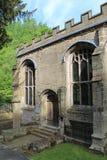 Конец здания часовни St Winefride вверх, Уэльс, Великобритания стоковая фотография rf