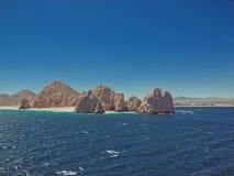 Конец земель на Cabo San Lucas Стоковые Изображения RF