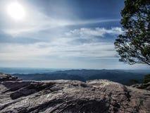 Конец земли на национальном парке PA HIN NGAM, Таиланде Стоковая Фотография RF