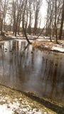 Конец зимы стоковое фото