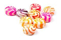 конец карамельки конфет изолированный вверх Стоковые Фотографии RF