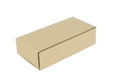 конец коробки коробки предпосылки вверх по белизне Стоковое Изображение